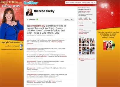 @thereseskelly Custom Twitter Background
