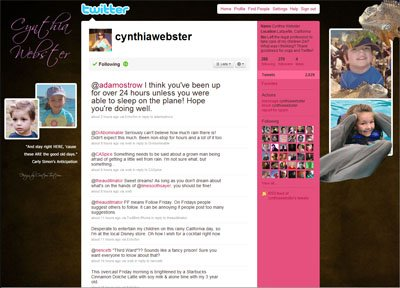 @CynthiaWebster Custom Twitter Background