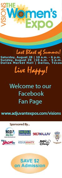 Visions Women's Expos Custom Facebook Fan Page Profile Picture
