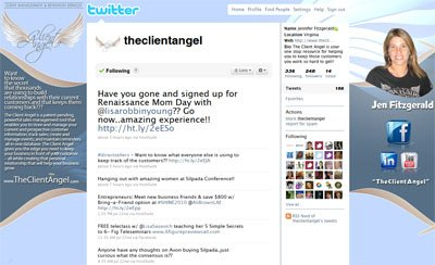 @theclientangel Custom Twitter Background