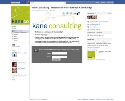 Kane Consulting on Facebook