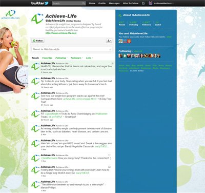 @AchieveLife Custom Twitter Background Skin