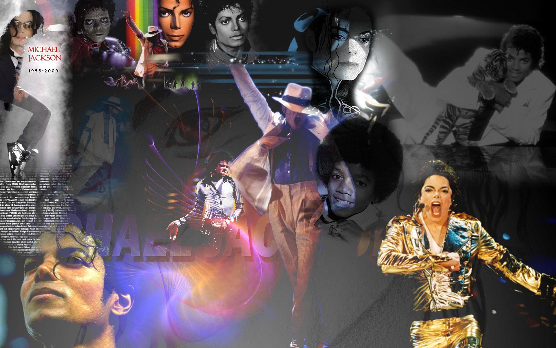 Michael Jackson Twitter Background - CustomTwit.com