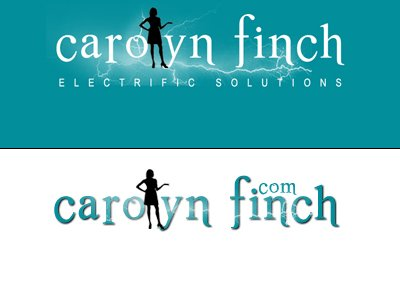 Carolyn Finch custom Logo designed by CustomTwit.com