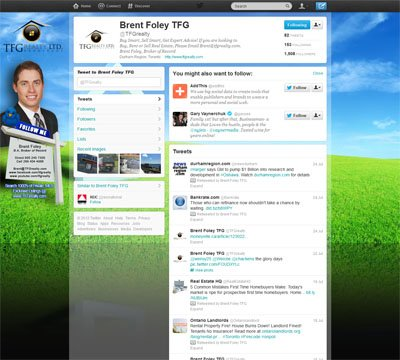 TFG Realty Ltd Custom Twitter Background Skin Designed by www.CustomTwit.com
