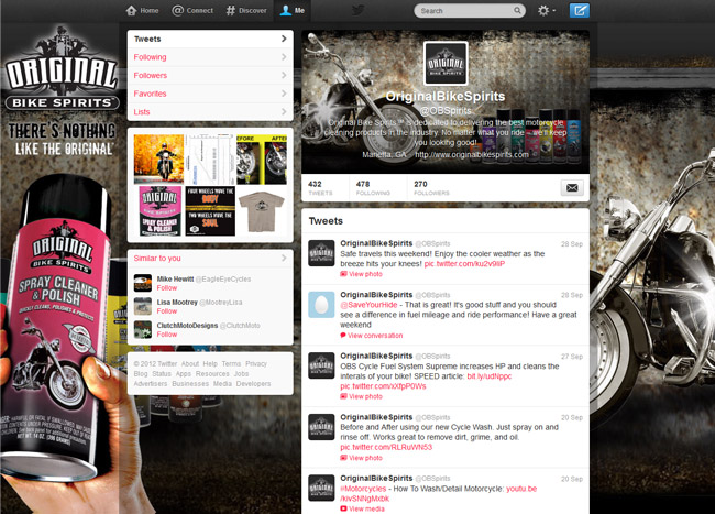 @OBSpirits Custom Twitter Background Skin and New Twitter Header designed by CustomTwit.com