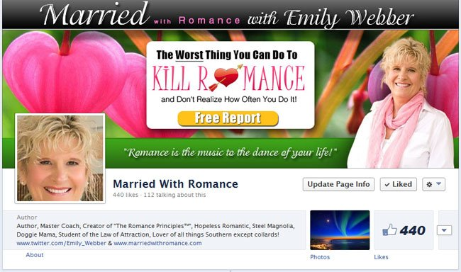 Married with Romance custom Facebook Timeline Cover Image & Avatar designed by www.CustomTwit.com