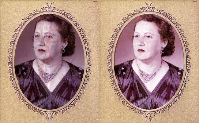 Mary Margaret Satterfield Lee Vintage Photo Restoration by www.CustomTwit.com