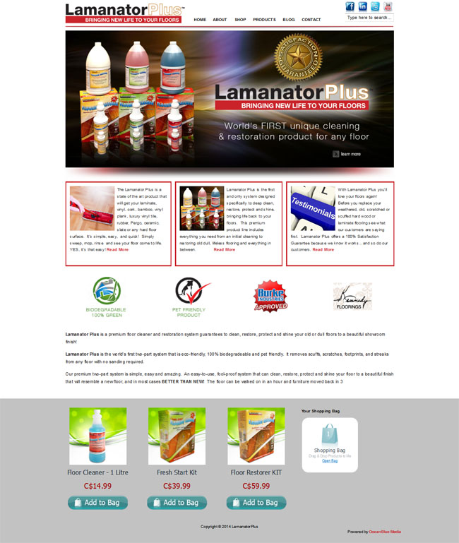 LamanatorPlus - Bringing New Life to Your Floors