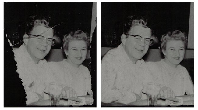 Professional Vintage Photo Restoration