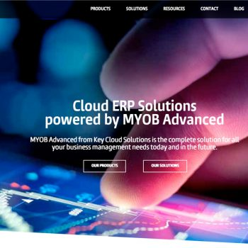 WordPress Web Design - Key Cloud Solutions - Cloud ERP Providers