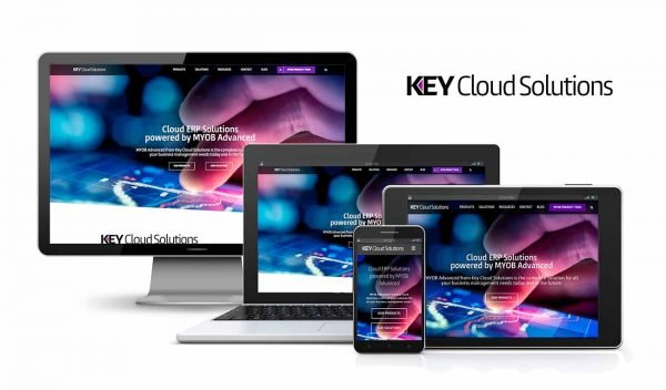 Key Cloud Solutions WordPress Design