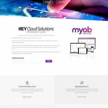 WordPress Web Design - Key Cloud Solutions
